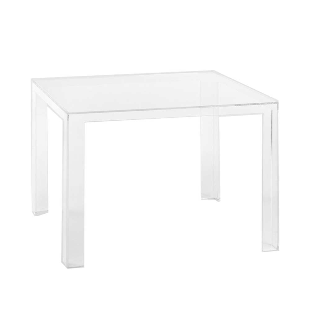 Mesa invisible table cristal novoambiente for Table transparente
