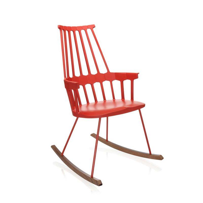 cadeira-comback-balanco-kartell-patricia-urquiola-vermelha-alaranjada