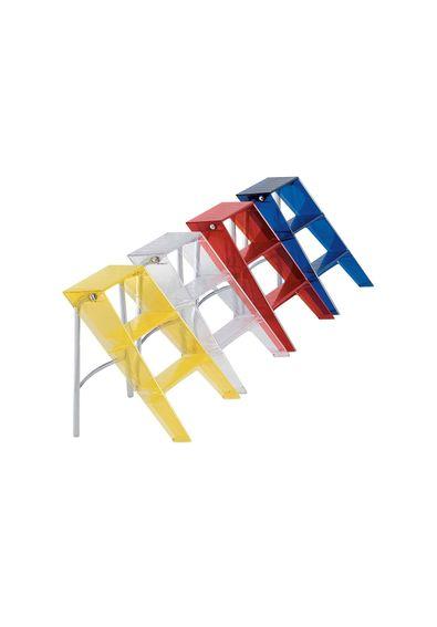 Escada_Upper_Kartell_71_Vermelho_Alaranjado_Alberto_Meda_Paola_Rizzatto_1