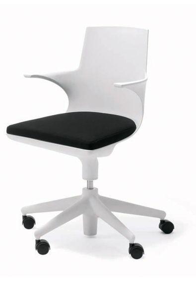 Cadeira_de_Escritorio_Spoon_Chair_Kartell_3_Branco_Preto_Antonio_Citterio_Toan_Nguyen_12