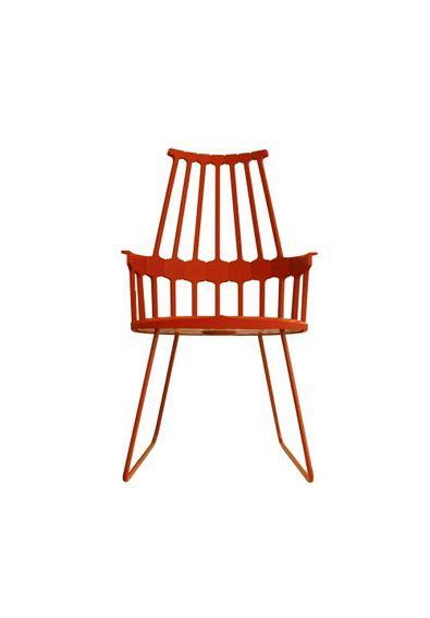 cadeira-comback-pes-sky-kartell-patricia-urquiola-vermelha-alaranjada