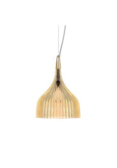 luminaria-e-kartell-ferruccio-laviani-amarela