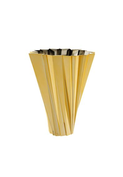 vaso-shanghai-kartell-mario-bellini-ouro